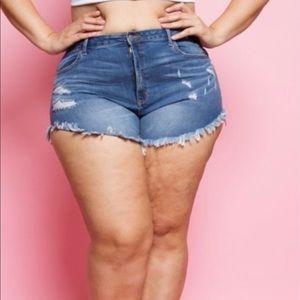 🦋🦋Plus Size Denim Shorts!🦋🦋